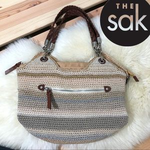 The Sak Sand Stripe Special Edition Large Tote